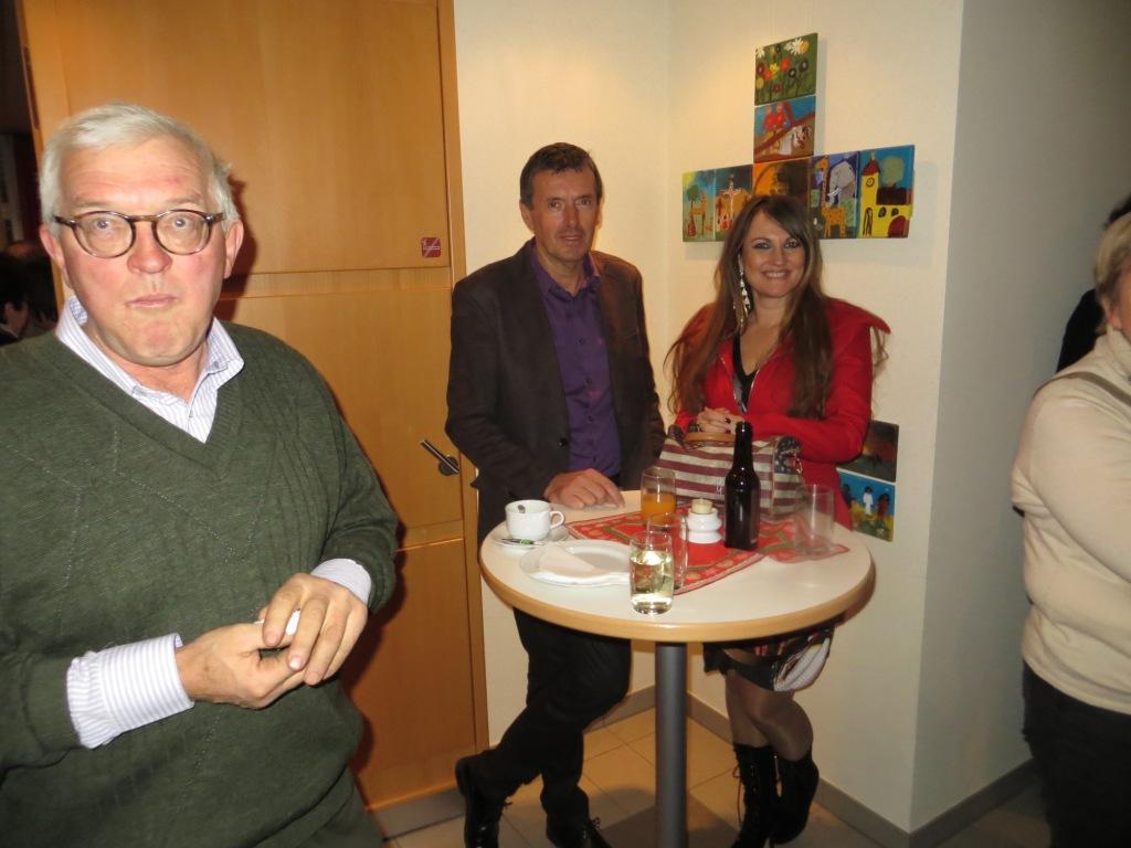 Christa Fartek ein gerne gesehener Gast und Star in Weinburg