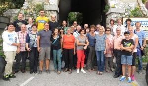 Gruppenbild vom Kulturausflug nach Varazdin und Triest