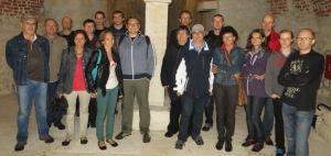 Das Team in der Kulturhauptstadt Marburg