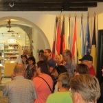 Beginn der Führung durch das Museum von Kobarit mit Inhalt der Erzählung über die Isonzofront