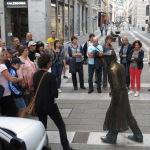 mit UMBERTO SABA beginnt die Stadtführung zu Fuß durch Triest