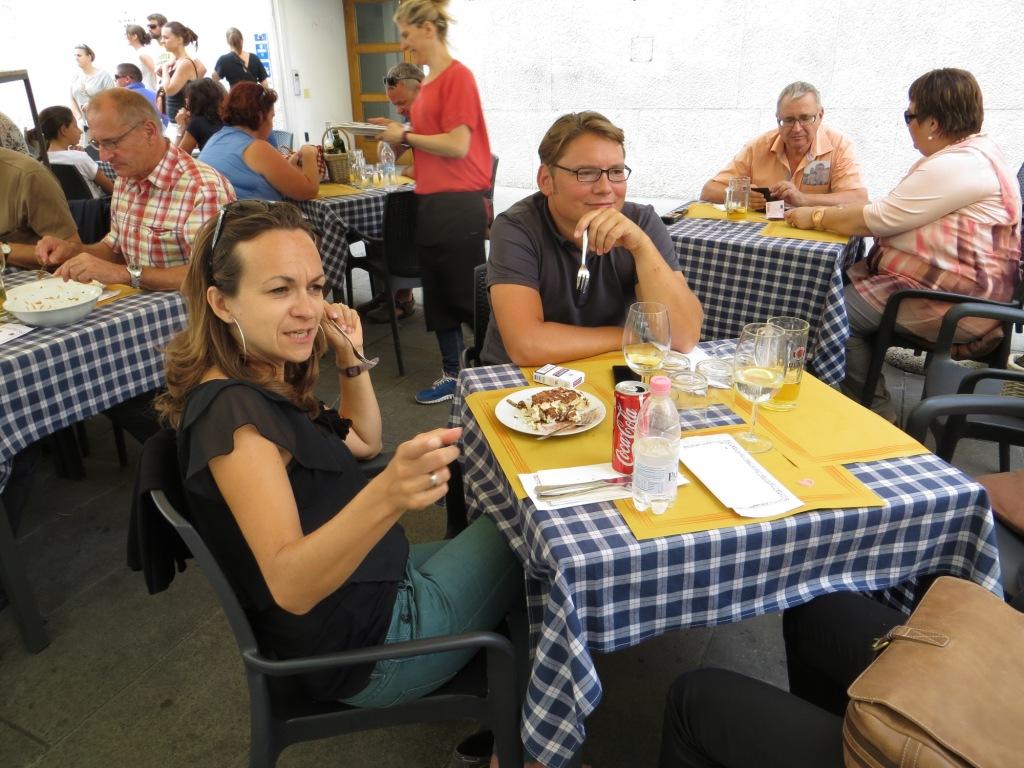 Mittagessen in Triest