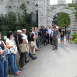 inneres Tor in das Schloss Duino