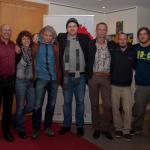 Gruppenfoto mit den großen Künstlern und den Veranstaltern