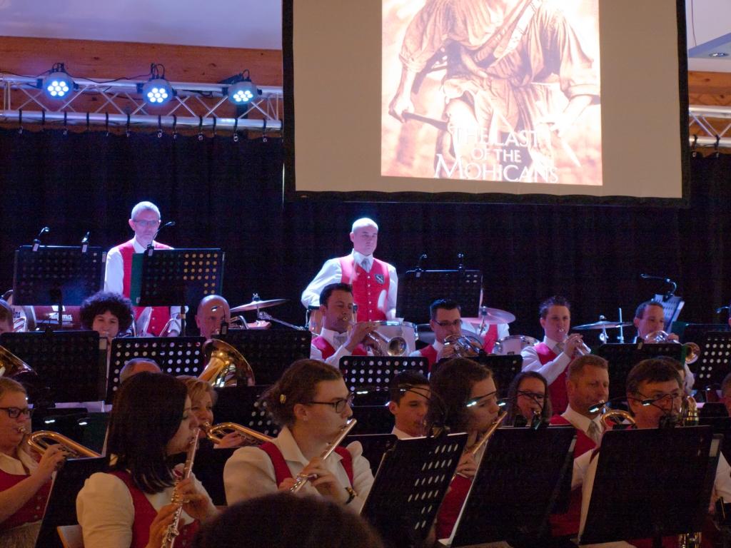 Die Ortsmusikkapelle St.Nikolai ob Dr. im Konzertsaal