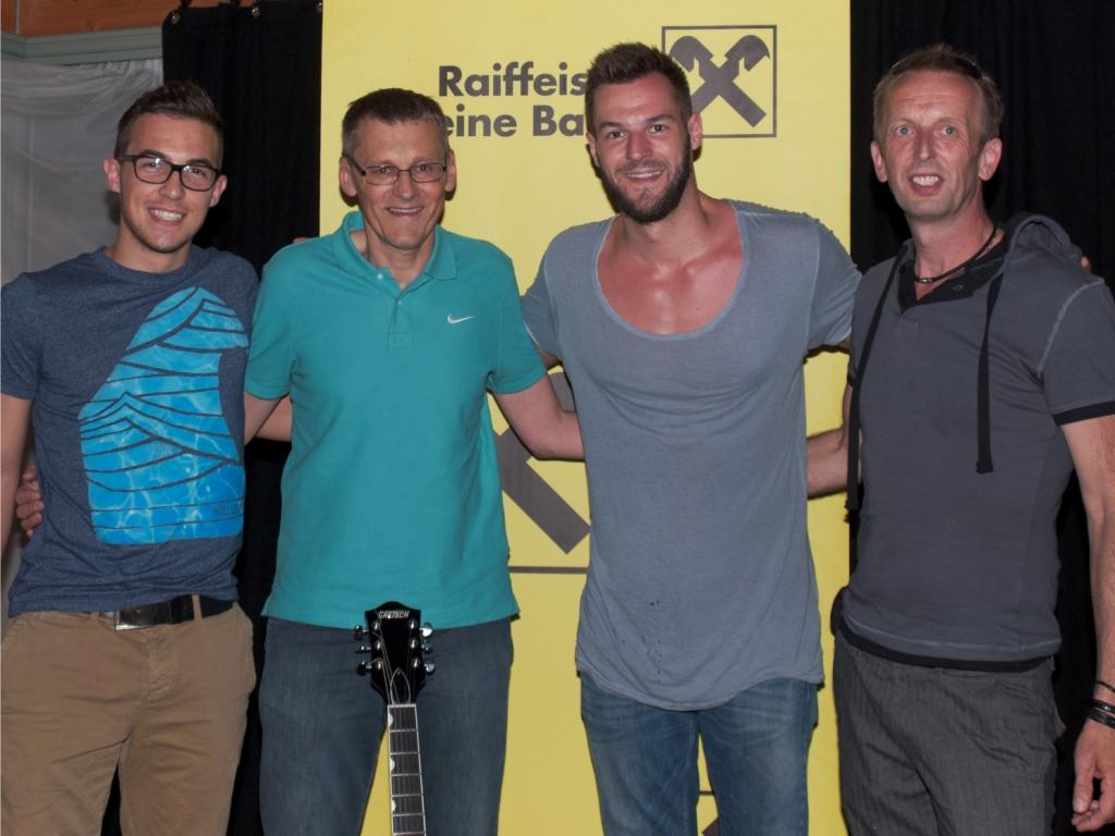 Andreas, Franz, Paul und Sepp