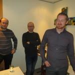 Schank 2 mit Harald, Heli und Armin