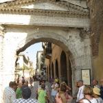 Das Stadttor von Verona aus dem Mittelalter