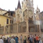 Verona hat teile des Mittelalters