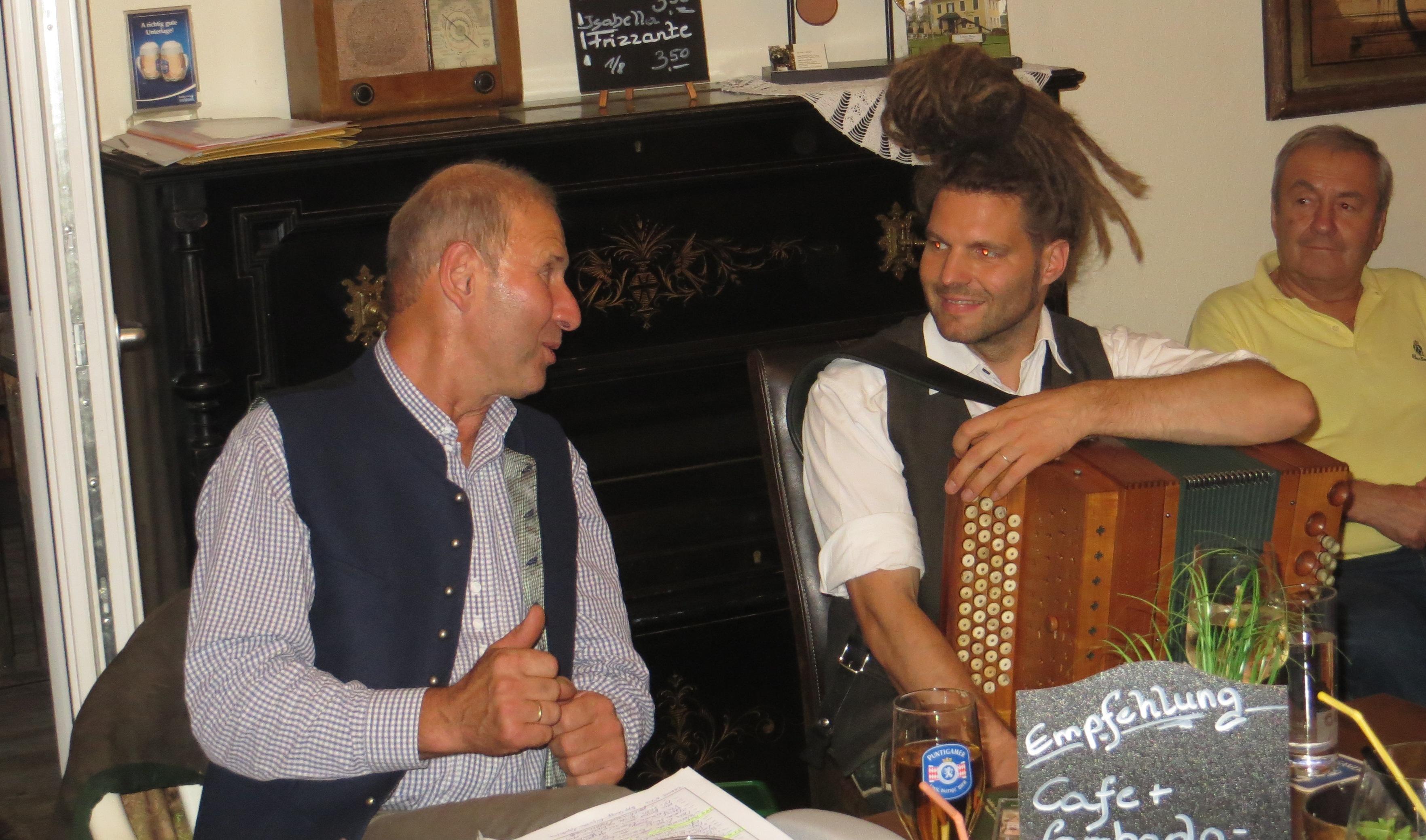 Ernst Zwanzleitner und Daniel Strohmeier